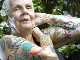 ¡Para toda la vida! Fotos de tus tatuajes cuando envejezcas