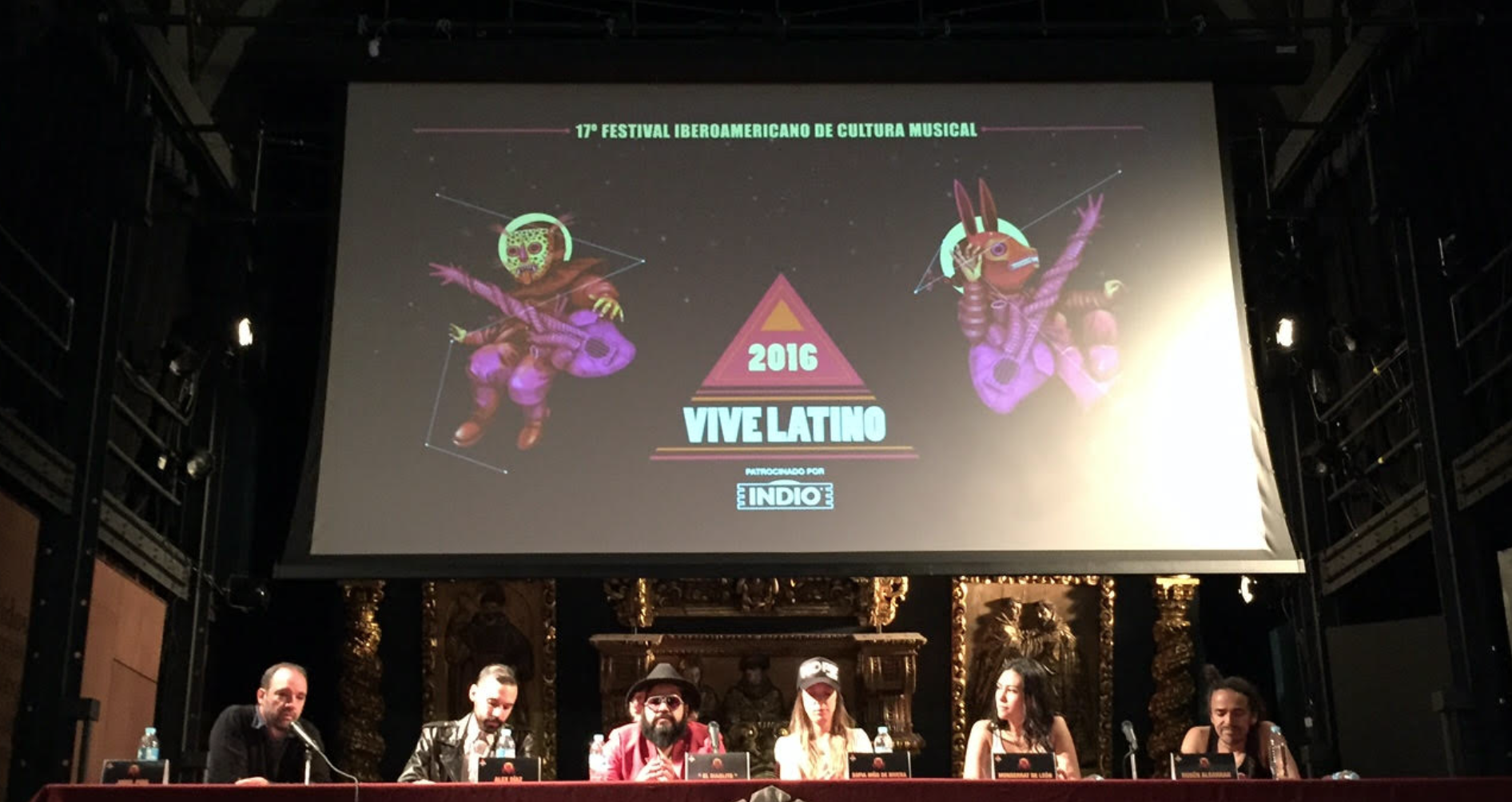 vive latino - clan de clanes - casa comedy - radioalternativo - 2016